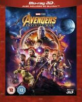 Nuovo Avengers Infinito Guerra 3D Blu-Ray