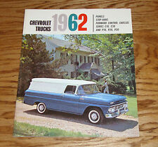 1962 Chevrolet Panel Truck Sales Brochure 62 Chevy Step-Van Forward Control