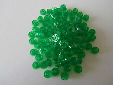 LEGO CLASSIC / RACER  100 runde 1er Plättchen 30057 in grün transparent  NEUWARE