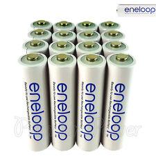 16 x Panasonic Eneloop AAA batteries 750mAh Rechargeable Accu Ni-MH HR03 Phones