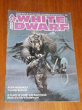 WHITE DWARF #62 ROLE-PLAYING GAMES WORKSHOP UK MAGAZINE~