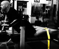 SPUD INC Glute Ham Strap YELLOW // GHD Extension Hamstring Developer Machine Gym