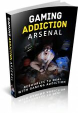Gaming Addiction Arsenal pdf-ebook+MRR+Free Shipping+bonus books