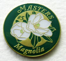 2018 Augusta MASTERS  BALL MARKER Celebrating HOLE #5,  MAGNOLIA