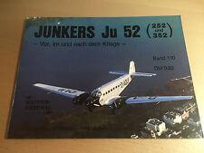 WAFFEN-ARSENAL BAND 110 - JUNKERS Ju 52 (252 UND 352)
