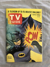 TV GUIDE-03/26/1966-BATMAN-PITTSBURGH EDITION-4.0