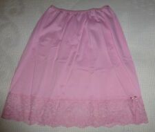 Maidenform Confection Women's Half Slip S Nylon Pink 1950s 60s