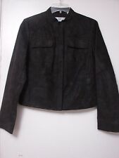 DKNY leather jacket very nice