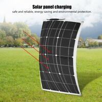60W 18V Semi Flexible Power Solar Panel Battery Charger for Boat Car Camp Home