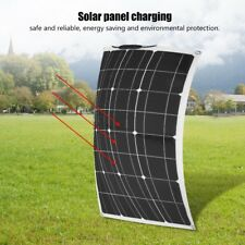 60W 12V Semi Flexible Power Solar Panel Battery Charger for Boat Car Camp Home