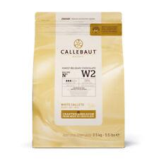 Callebaut Bia?a Czekolada Najlepsza Belgijska Czekolada Topniej?cy Callets 2.5Kg