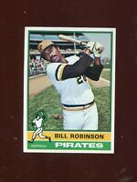 1976 Topps #137 Bill Robinson EX-MT (Pirates) FREE SHIPPING ON $15+