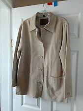 8fa225ab1a5 Auténtico St. John s Bay informal chaqueta de cuero de gamuza NUEVO sin  etiquetas Petite grandes