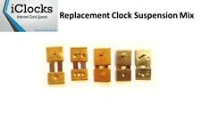 5x Suspension Mix for Wall Mantle Clock, Springs pendulum rods, UK Seller (5M)