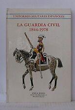Uniformes militares españoles: La Guardia Civil 1...   Buch   Zustand akzeptabel