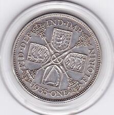Sharp  1935   King  George  V   Florin  (2/-)   Silver  (50%)  Coin
