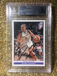 Diana Taurasi Phoenix Mercury 2005 WNBA Rittenhouse Auto Autograph BAS BGS