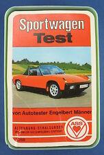 Quartett - Sportwagen Test - ASS - Nr. 3268 -- von 1973 -- Engelbert Männer