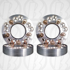 """4pc 5 x 100mm / 5 x4.5"""" to 5 x 4.75 Dual Application Wheel Adapters 1.25"""" Spacer"""