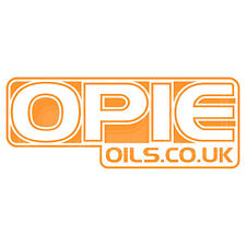 Opie aceites Decal Set - 2 Pegatinas de 6 Pulgadas X naranja