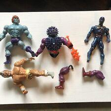 Vntg He man Spikor Faker Blue Ninja Remco Conan  Bundle Parts Only