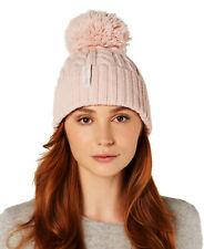 CALVIN KLEIN Hat Knitted Cable Beanie Petal Pink   Retail $40