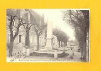 BUZANCAIS (36) MONUMENT aux MORTS de 1870 & VILLAS en 1903