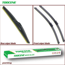 Front and rear windshield wiper blade for Ford Fiesta 2008-2016 windscreen wiper