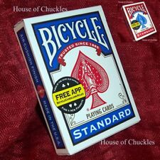 Short Deck - Magic Card Trick - Bicycle Red or Blue - Made USA - Gaff Key Cards