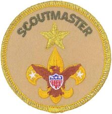 Boy Scouts of America Scoutmaster Unit Leader Award of Merit Position Patch New