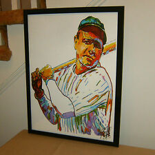 Babe Ruth, New York Yankees, the Bambino, Slugger, Outfielder, MLB, POSTER w/COA
