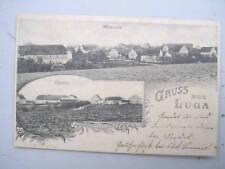 8509 AK Gruß aus Luga Ost- u. Westansicht 1906