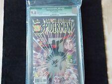 AMAZING SPIDER-MAN VOL 2 #25 - GREEN WITH JOHN ROMITA JR SIG - CGC 9.8 GRADE!