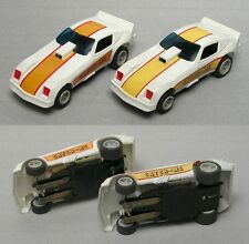 2 Matchbox 1979 CATCH-ME MONZA FUNNY CAR HO Slot Car 12V VaRiAtIoNs 3742 UNUSED!