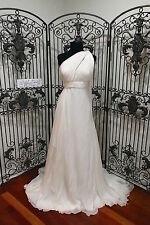 V224W PRONOVIAS TRACIA SZ 10 OFF WHITE $3295 FORMAL WEDDING GOWN DRESS