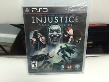 ** Injustice: Gods Among Us: Ultimate Edition (Playstation 3 PS3 Game) Brand New