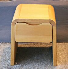 Harrods Solid Oak Childs Curved Bedside Table - Amazing Condition