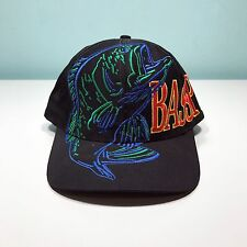 Vintage Bass Pro Shops Spellout Big Logo Embroidered Snapback Hat