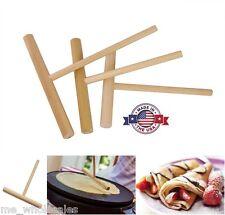 Cucina Galli Hardwood Crepe Spreaders Professional 3 Pack Frying Pan Skillet USA