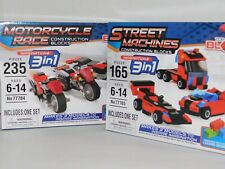 Motorcycle Race & Street Machines Construction Blocks Compatible Other Brands