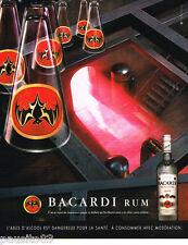 PUBLICITE ADVERTISING 085  2004  le RHUM BACCARDI