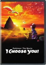Pokemon The Movie: I Choose You! [New DVD] Black, Amaray Case
