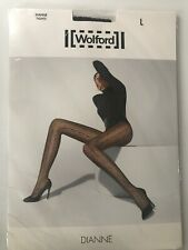 Wolford Dianne Tights Pantyhose Size: Large  Color: Mocca 19090 - 18