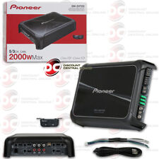 PIONEER GM-D9705 CAR AUDIO 5-CHANNEL BRIDGEABLE AMP AMPLIFIER 2000W MAX POWER