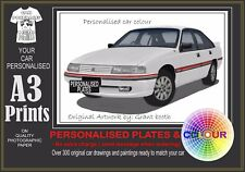 88 -91 VN SS SEDAN A3 ORIGINAL PERSONALISED PRINT POSTER CLASSIC RETRO CAR