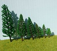 Poplar Fir Pillar Trees - Railway Architecture Model Making 3-8cm-16cm high