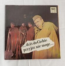 DZIS DO CIEBIE PRZYJSC NIE MOGE VERI TON POLAND RECORD ALBUM LP