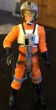 """""""Gold Leader (Jon 'Dutch' Vander)"""" 2004 Star Wars Action Figure With Helmet, Gun"""