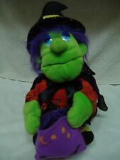 HALLOWEEN ANIMATED HAUNTED WITCH  TALKING/MOVING HEAD/ARMS/FEET PROP