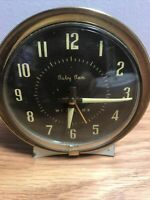 Vintage Westclox Baby Ben Wind Up Alarm Clock Style Mid Century TESTED & WORKING